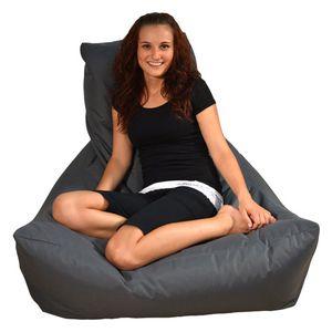 Lounge-Sessel,  Grau, outdoorfähig