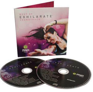 Zumba Musik CD Exhilarate Soundtrack Best of Exhilarate2 CDs