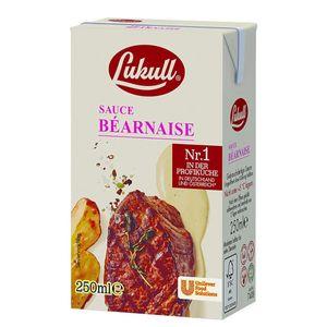 Lukull Sauce Bernaise cremig würziger Kräuter Geschmack 250ml