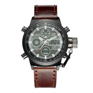 AMST Herrenuhr Multifunktions Outdoor Sports Wasserdichte Armbanduhr