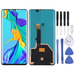 Für Huawei P30 Pro Display Full OLED LCD Einheit Touch Ersatzteil Reparatur Schwarz Neu
