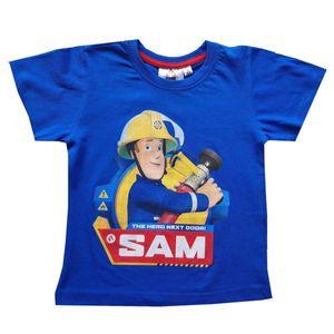 Feuerwehrmann Sam Tshirt, blau, Gr. 98-128 Größe - 110