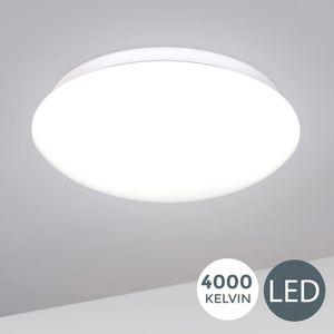 LED Deckenlampe inkl. 12W 1200lm LED Platine Deckenleuchte 4000 Kelvin neutralweiss 230 Volt Ø280mm B.K.Licht