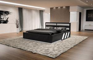 Design Komplettbett Apollonia inklusive Matratze und Lattenrost