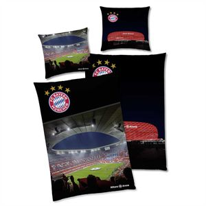 FC Bayern München Allianz Arena Bettwäsche Linon / Renforcé
