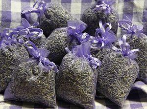 10 x Lavendelsäckchen mit fanzösischen Lavendel - Lavendel zum Entspannen und Schlafen - Mottenschutz