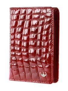 Golden Head Cayenne ID Wallet Red