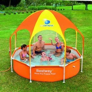 Bestway Splash in Shade Play Pool Schwimmbecken Planschbecken Kinder Baby 56432