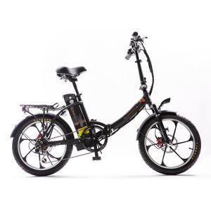 "City20 Premium - 20"" E-Faltrad, E-Bike, Pedelec, 36V / 21Ah / 150km Akku-Reichweite ,250W Motorleistung | Schwarz /// Premium-Paket"
