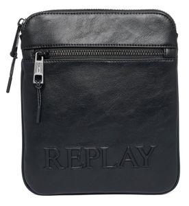 REPLAY Crossover Bag Black