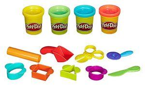 Play-Doh Starter Set, Modeling dough, Blau, Grün, Rot, Gelb, 3 Jahr(e), Junge/Mädchen