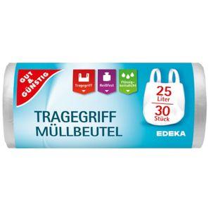 Gut &  Tragegriff-Müllbeutel 25l 30ST