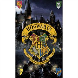 Harry Potter Hogwarts Badetuch 75x150