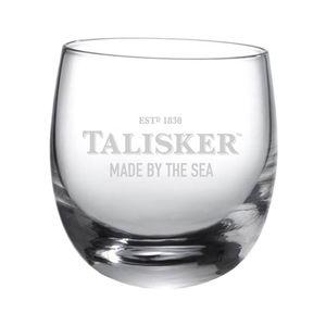 Talisker Rocking Glas Schriftzug Single Malt Whiskey Whisky Alkohol Drink 250 ml