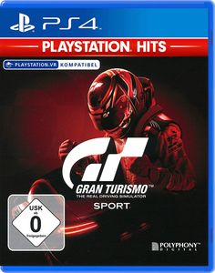 KO4 GRAN TURISMO SPORT PS HITS - Konsole PS4