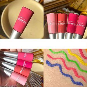 13-farbiger Matte Metallic Shimmer Glitter Color Liquid Eyeliner Wasserdicht Langlebige, nicht verschmierte, mit Lidschatten pigmentierte Fluessigkeit
