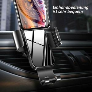 Handyhalterung Auto Handyhalter fürs Auto Lüftung Universale KFZ Smartphone Halter für iPhone 12/ 12 Pro/ 11/ SE/ XS/ XR/ 8/ Samsung/ Huawei/ Xiaomi/ LG usw