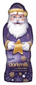 Milka Weihnachtmann Dark Milk dunkle Alpenmilch Schokolade 100g