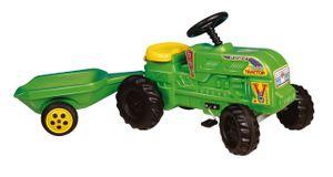 Traktor Tretfahrzeug Mit Anhänger 140 X 40 X 54 Cm