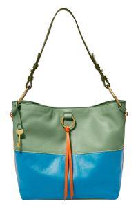 FOSSIL Ada Bucket Bag Green Multi