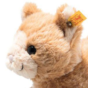 Steiff 099182 Soft Cuddly Friends Cassie Katze   26 cm rotblond Plüsch