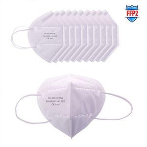 VADOOLL 100 Stück Atemschutzmaske Maske, Gesichtsmasken, Atemschutzmasken, multifunktionale Schutzmaske mit Nasenklammer