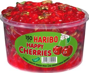 Haribo Happy Cherries Dose mit 150 Stück