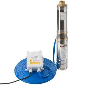 Arebos Tiefbrunnenpumpe 370W, 4000 L/h - direkt vom Hersteller