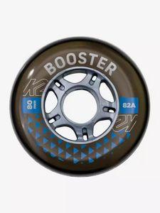 K2 BOOSTER 80 MM 82A 8-WHEEL PACK W IL 1 Design -