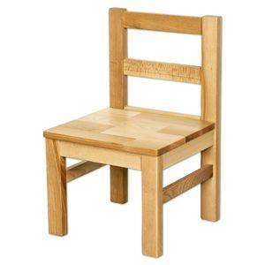 Bubema Kindersitzgruppe massiv, Tisch, Stuhl oder auch als Set in 2 Farben : Buche, Natur geölt Ein Stuhl Farbe: Buche, Natur geölt Setinhalt: Ein Stuhl