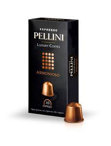 Pellini Luxury Coffee Armonioso Espresso | 10 Nespresso® komp. Kapseln