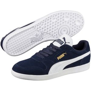 PUMA Icra Trainer Herren Low Sneaker Blau Schuhe, Größe:43