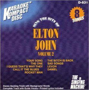 Karaoke (Backing/Vocal/Lyrics) - Elton John Vol. 2 [Karaoke CD]
