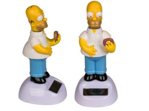 Homer Simpson Solar Wackelfigur