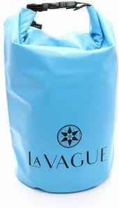 LA VAGUE ISAR Wasserfester Packsack hellblau 10 L