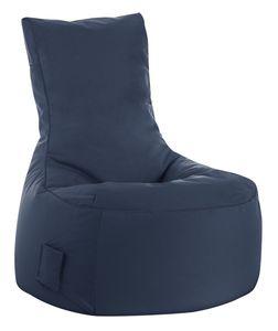 Sitzsack Swing Scuba 95 x 90 x 65 cm,  Jeansblau Swing