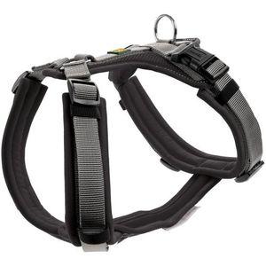 Hunter Hundegeschirr Maldon, Farbe:Schwarz/Grau, Größe:M-L