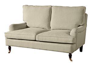 Max Winzer Passion Sofa 2-Sitzer - Farbe: beige - Maße: 158 cm x 108 cm x 94 cm; 2914-2100-1645202-F07