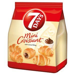 7 Days - Mini Croissants mit Kakao-Creme-Füllung - 185g