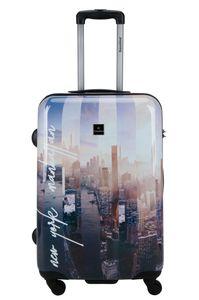 Saxoline Koffer statt Manhattan Reise Rollen Trolley medium 67 cm Bowatex