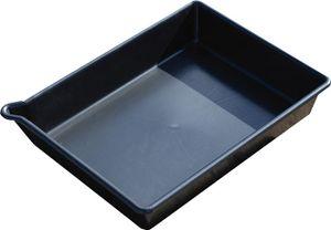 Schöller PE-Auffangwanne für Kleingebinde 53x40x10cm, 16L 100% PE, Chemikalienbest.