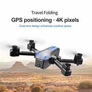 5G GPS WIFI FPV 4K Optische Kamera Höhe Optisch Durchflussklappbare Selfie-Drohne