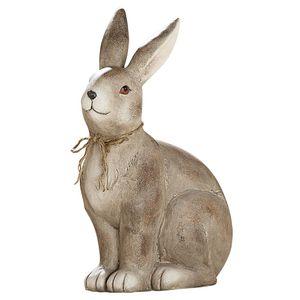 Gilde Magnesihase 'Lilo' sitzend, 42 cm, braun