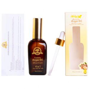 All4Lux Arganöl Bio original aus Marokko,  – Vegan für Anti-Aging, Anti-Falten, Haut, Gesicht, Haare und Nägel, 95ml