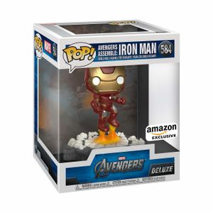 The Avengers - Iron Man Avengers Assemble Diorama Deluxe Pop! Vinyl (RS) #584