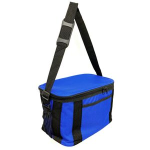 HAC24 Mini Kühltasche 16l Isoliert Blau mit Kühlakku Für 12 Dosen Thermotasche Campingtasche Isoliertasche Kühlkorb Camping Picknicktasche Kühlbox …