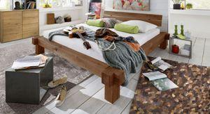 Massivholzbett Balkenbett Fichte 180 x 200 cm JONAS