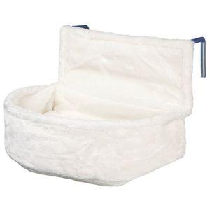 Trixie Kuschelsack für Heizkörper, Plüsch 45 × 13 × 33 cm, weiß