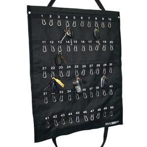 Schlüsseltasche mit 2 Haltegriffen für 50 Schlüssel/Schlüsselbunde