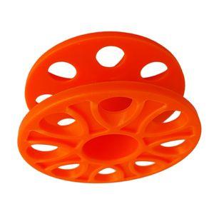 Mini Reel Fingerreel / Finger Reel Spool Orange